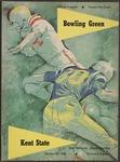 BGSU Football Program October 22, 1960