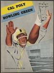 BGSU Football Program October 29, 1960