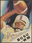 BGSU Football Program: October 07, 1961