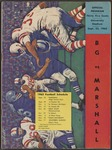 BGSU Football Program September 22, 1962