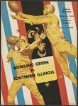 BGSU Football Program November 17, 1962