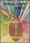 BGSU Football Program: September 21, 1963