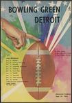 BGSU Football Program September 21, 1963