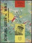 BGSU Football Program: October 12, 1963