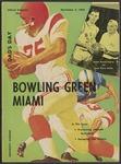 BGSU Football Program November 02, 1963