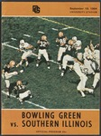 BGSU Football Program: September 19, 1964