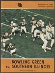 BGSU Football Program September 19, 1964