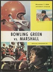 BGSU Football Program November 07, 1964