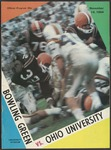BGSU Football Program November 14, 1964