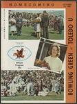 BGSU Football Program October 16, 1965