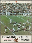 BGSU Football Program October 30, 1965