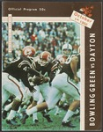 BGSU Football Program: October 01, 1966