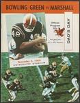 BGSU Football Program: November 05, 1966