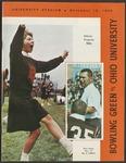 BGSU Football Program: November 12, 1966
