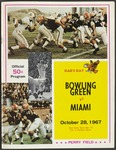 BGSU Football Program: October 28, 1967
