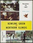 BGSU Football Program: November 18, 1967