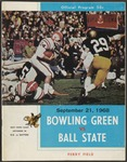 BGSU Football Program September 21, 1968