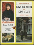 BGSU Football Program October 19, 1968