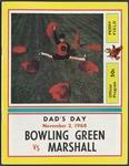 BGSU Football Program: November 02, 1968