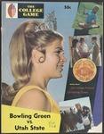 BGSU Football Program September 20, 1969