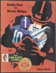 BGSU Football Program October 04, 1969