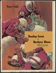 BGSU Football Program November 22, 1969