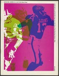 BGSU Football Program September 26, 1970