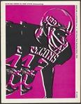 BGSU Football Program October 17, 1970