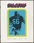 BGSU Football Program: October 02, 1971