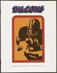 BGSU Football Program: November 13, 1971