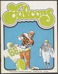 BGSU Football Program October 26, 1974