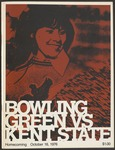 BGSU Football Program: October 16, 1976