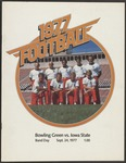 BGSU Football Program September 24, 1977