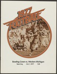 BGSU Football Program: October 01, 1977