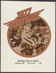 BGSU Football Program: October 08, 1977