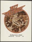 BGSU Football Program October 08, 1977