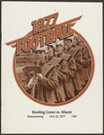 BGSU Football Program: October 22, 1977