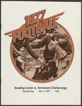 BGSU Football Program: November 05, 1977