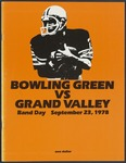 BGSU Football Program: September 23, 1978