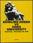 BGSU Football Program November 18, 1978