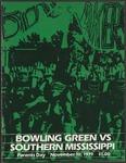 BGSU Football Program: November 10, 1979