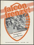 BGSU Football Program: September 13, 1980