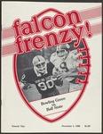 BGSU Football Program: November 01, 1980