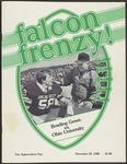BGSU Football Program November 22, 1980