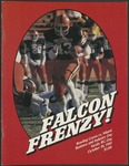 BGSU Football Program October 10, 1981