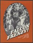 BGSU Football Program October 31, 1981