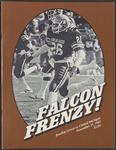 BGSU Football Program: November 21, 1981