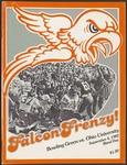 BGSU Football Program September 04, 1982