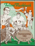 BGSU Football Program: October 16, 1982