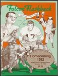 BGSU Football Program October 16, 1982
